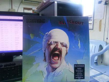 SCORPIONS Blackout LP Vinyl