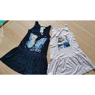 全新H&M女童连衣裙2件