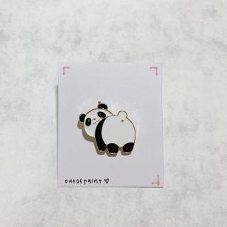 Panda Enamel Pin