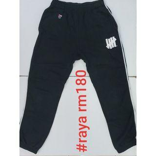 #RAYA180 UNDEFEATED SMALL Five Strike U Sweat Pants Black