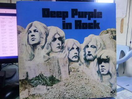 DEEP PURPLE In Rock LP Vinyl