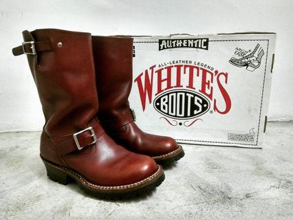 White's boots nomad engineer motorcycle pull on boots