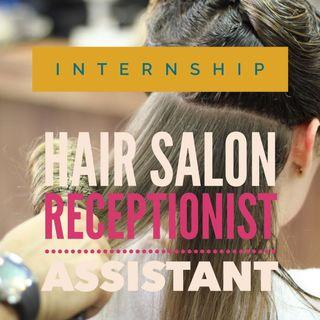 Hair salon receptionist/assistant