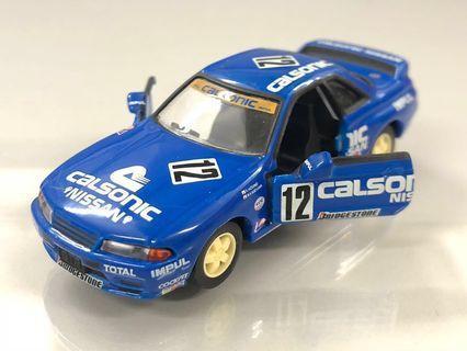 絕版Tomica limited Calsonic GTR 32 (1/64) 並非 kyosho tiny hot wheels