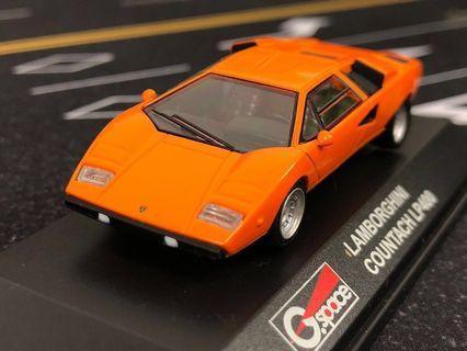 LAMBORGHINI  LP400 1/64 並不是tomica kyosho tiny hot wheels