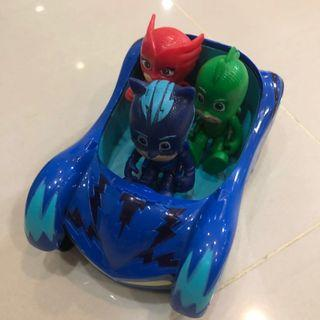 PJ masks Catboy Car with 3 figurines