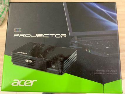 Acer Projector C120 LED WVGA Port - Black Color