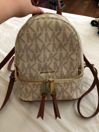 b6245efcec41 michael kors backpack mini | Magazines & Others | Carousell Philippines