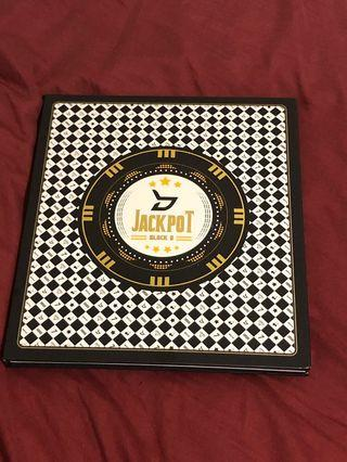 Block B Jackpot limited edition ep