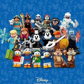 🚚 LEGO 71024 Disney Minifigures Series 2 ( set of 18) SEALED in FOIL BAGS