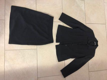 2 piece power suit
