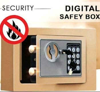 Electronic Digital Mini Safe Deposit Box | Steel Alloy Bolts | Digital Keypads | FREE Home Delivery Available