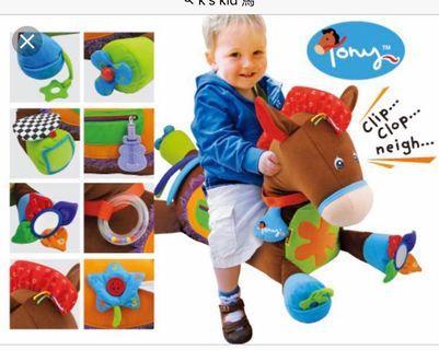 K's kids tony the pony 大馬公仔
