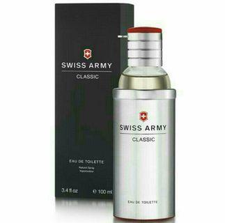🚚 Swiss Army Classic 瑞士陸軍經典男性淡香水/1瓶/100ml-新品正貨