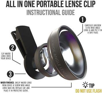 ZenLens All-in-one iPhone Camera Lens Kit [FREE SHIPPING]