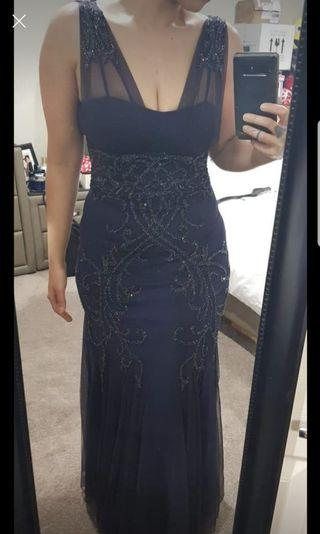 Formal maxi gown size small