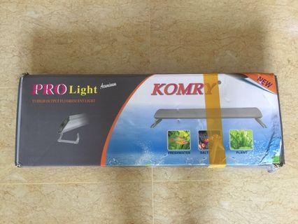 2 feet (4x24w) T5 Aquarium Light (black)