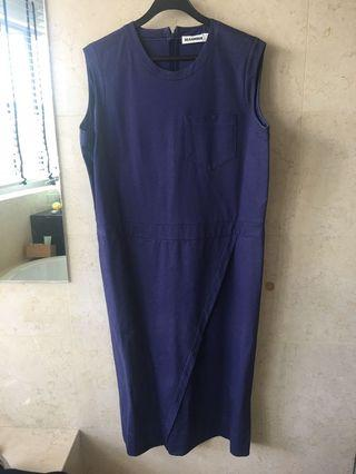 🚚 Jil Sander Blue Dress size 42