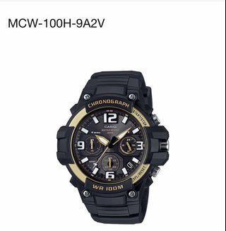🍎Wholesales price- Original Casio Watch MCW-100H-9A2V