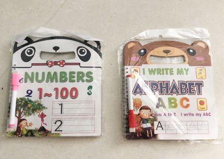 🚚 Preschool Learning Alphabet and Numbers
