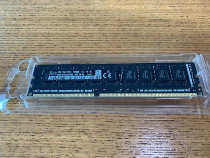 4GB 1Rx8 PC3-14900E