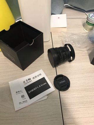 七工匠 25mm f1.8 for Sony