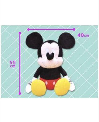 全新 日本空運 迪士尼 米奇老鼠 大公仔 生日禮物 sanrio Disney