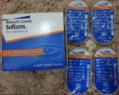 Kontak lens / Soflens for astigmatism