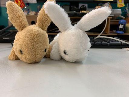 兔仔公仔擺設
