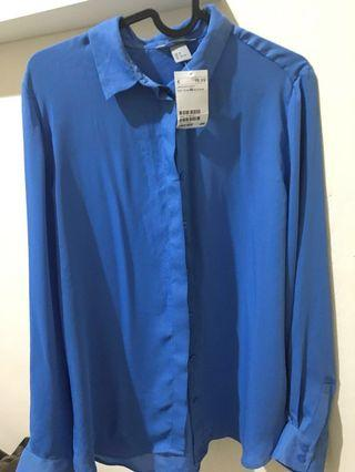 Blouse H&M Blue