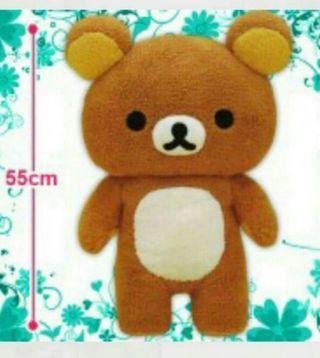 日本直送 全新正版鬆弛熊 55cm XL Size 大公仔