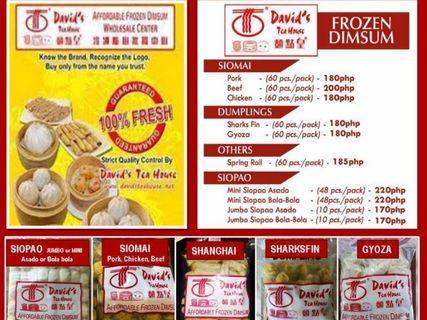 David Tea House Siomai Food Drinks Carousell Philippines