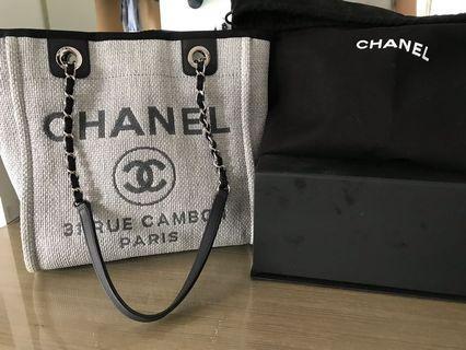 Chanel 香奈兒 草編包 沙灘海灘包