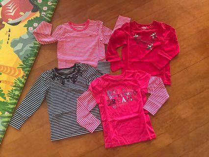 Esprit 4-5歲女童針織T-shirts (100%新)