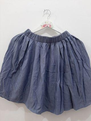 Skirts blue jeans