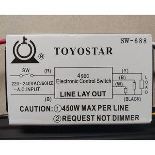 Toyostar SW-688 Electronic Control Switch