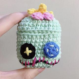 Lilo & Stitch Scrump Handmade Airpods Case Crochet