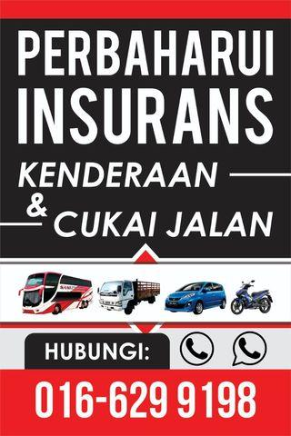 RENEW INSURANCES & ROADTAX