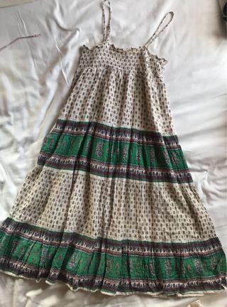 日本 長身裙 綿 Cotton summer dress similar to Titicaca