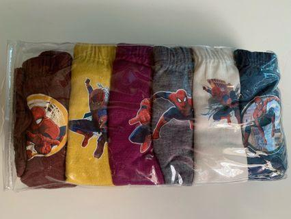 Spider-Man panties for age 7-8 yrs old