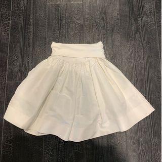 Miu miu 白色蓬蓬裙