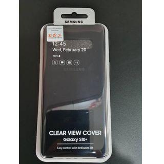 Samsung S10+ Clear View Cover