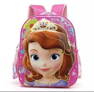 3D Sofia school bag
