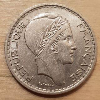 1949 Republic of France 10 Franc Coin