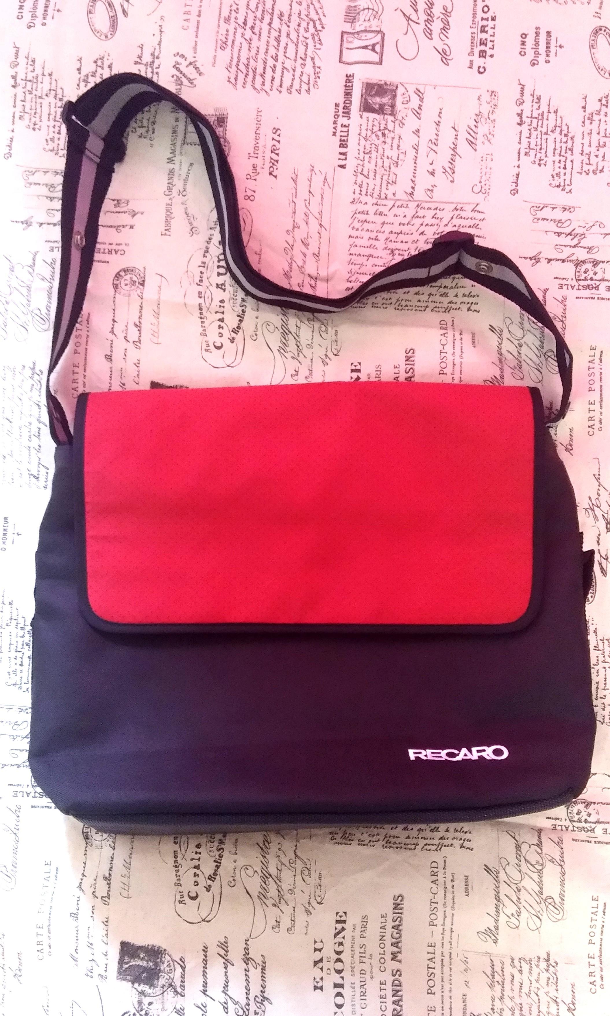100% AUTHENTIC RECARO SLING BAG