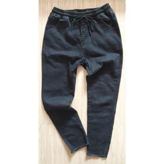 🚚 水洗彈性牛仔褲 L