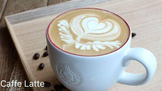 Pacific Coffee Latte e-voucher 鮮奶咖啡電子券