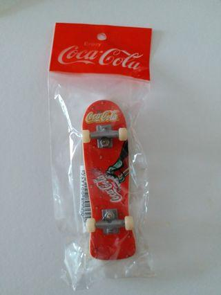 Coca Cola miniature skateboard