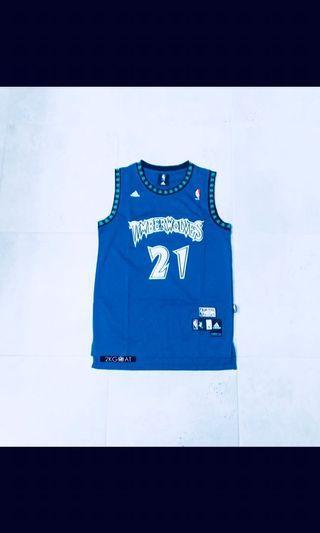 Kevin Garnett Timberwolves Jersey