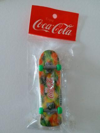 Coca Cola mini skateboard